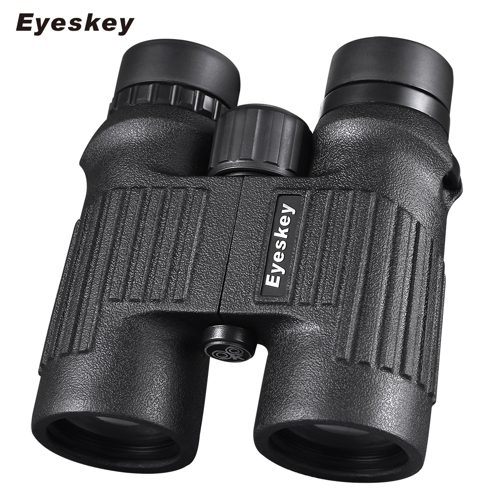 где купить Eyeskey 10x42 HD Binoculars Professional Telescope Waterproof Long Range binocular Portable for Camping Hunting Lll Night vision по лучшей цене