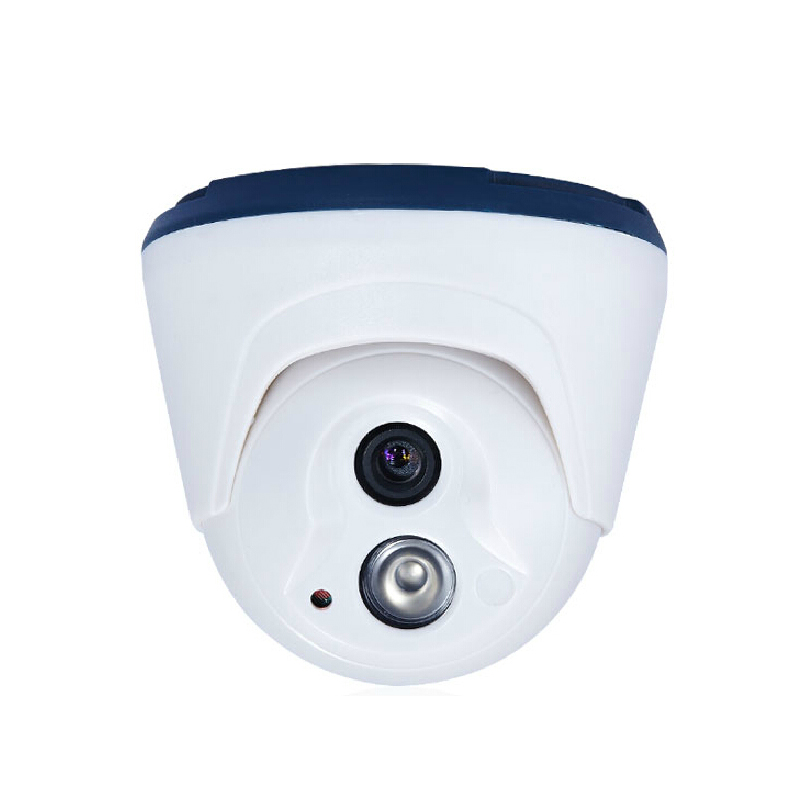 Indoor Dome IP Camera Onvif H 264 security built 48V POE infrared night vision surveillance