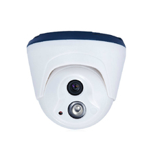 Indoor Dome IP Camera Onvif H.264 security built 48V POE infrared night vision surveillance