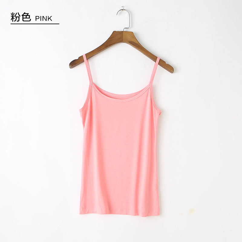 Summer New Crop Top Women Modal camisole female short paragraph wear small slings inside women 39 s large size bottoming crop tops in Camis from Women 39 s Clothing