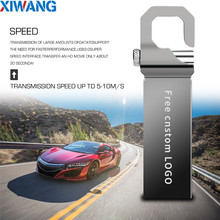 usb flash drive 32gb metal 2.0 pen 64gb 128gb 16gb 4gb stick 8gb waterproof memory Creative Free logo