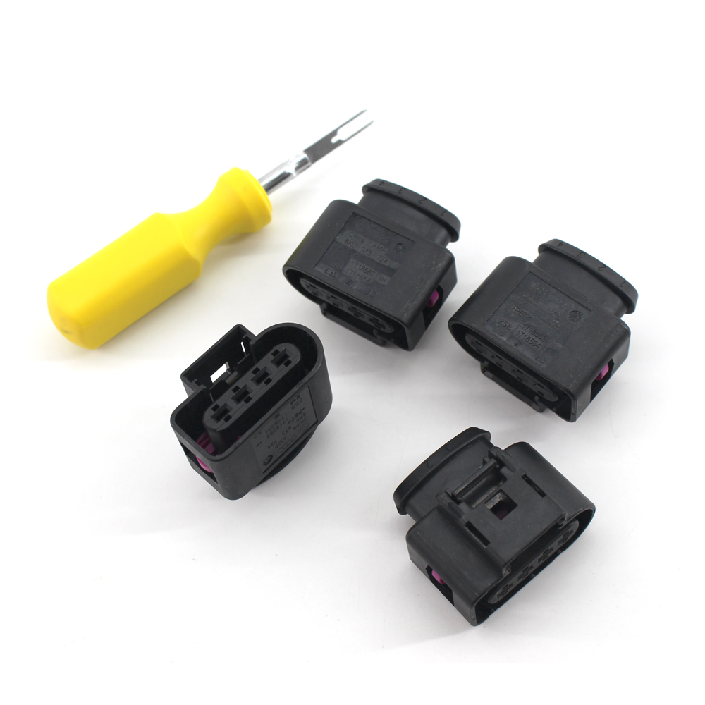 4*Ignition Coil Connector Repair Kit Harness Plug Wiring for Audi VW  8K0973724-in Car Switches & Relays from Automobiles & Motorcycles on  Aliexpress.com ...