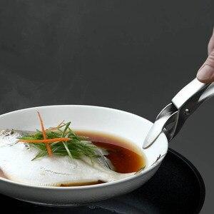Image 3 - Новый Huohou Анти Горячая миска посуда папка из нержавеющей стали анти обжигающий горшок чаша анти горячий зажим ручной зажим для духовки