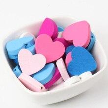serce biżuterii sztuk 50