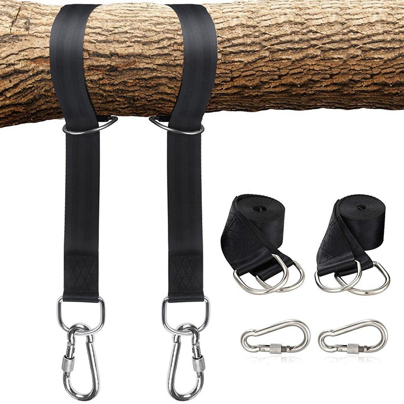 Outdoor Courtyard Tree Swing Straps Bandage Rattan Chair Lashing Rope Hanging Bandage For Children Outdoor Practical Tools