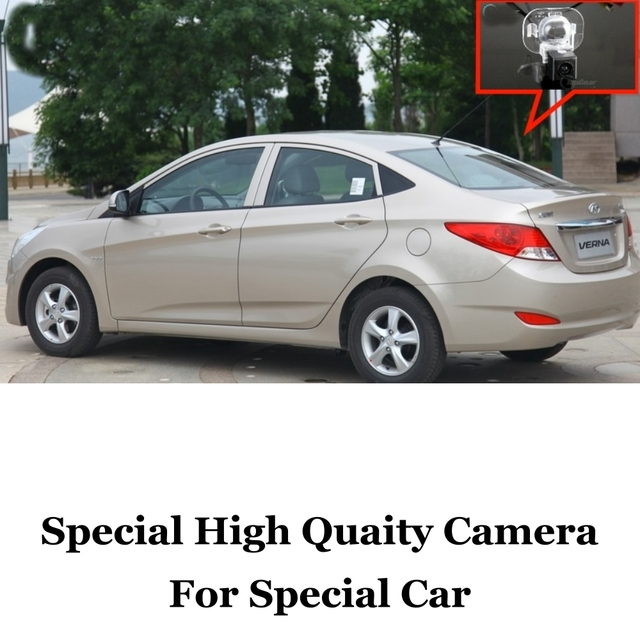 Câmera do carro Para Hyundai Fluídico/Solaris/2011 ~ 2014 de Alta qualidade Rear View Camera Back Up Para Os Fãs de Uso | RCA