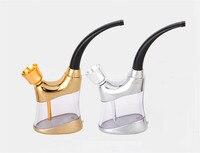 Cool gadgets zobo draagbare mini water pijp bicirculation filter waterpijp voor sigaret en cut tabak