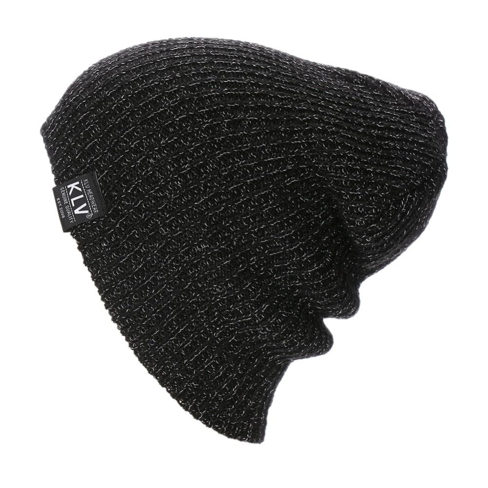 Women Men Unisex Knitted Winter Autumn Cap Casual Beanies Solid Color Hip-hop Cap Snap Slouch Skullies Bonnet Beanie Men Hat