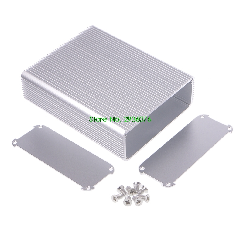 150x120x45mm DIY Aluminum Case Electronic Project PCB Instrument Box Drop Shipping Support