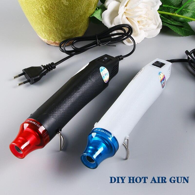 цена на Heat gun 220V 300W DIY Hot air gun Power tool Hair dryer soldering Supporting Seat Shrink Plastic Air gun Hot gun soldering