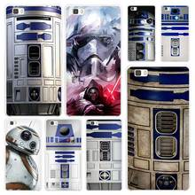 Star wars Hard White Plastic Case Cover for Huawei P7 P8 P9 P10 Lite Mate s 7 8 9