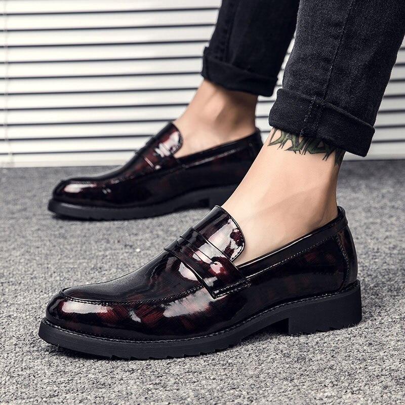 Sequin Oxfords Rivet Boys Tassel Men Designer Leather Loafers Shoes ... 8e9448a7924a
