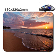 Sea Of The Sunset HOT SALES Used For Home And Office Computer And Laptop Gaming Rubber Mouse Pad 180X220X2cm