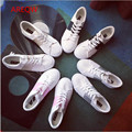 The summer the new color matching leisure candy color small white shoe fashion shoes b2