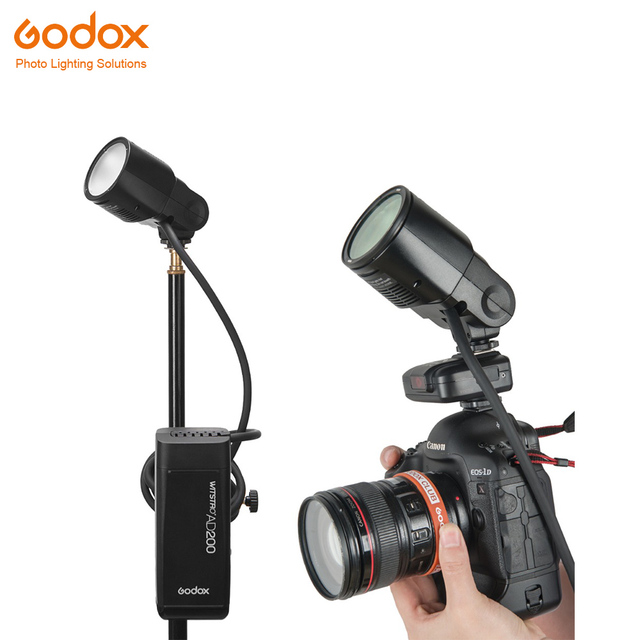 Godox AD200 flash accessory WITSTRO H200R Round Flash Head and EC 200 Extension Head AK R1 Color temperature reflector