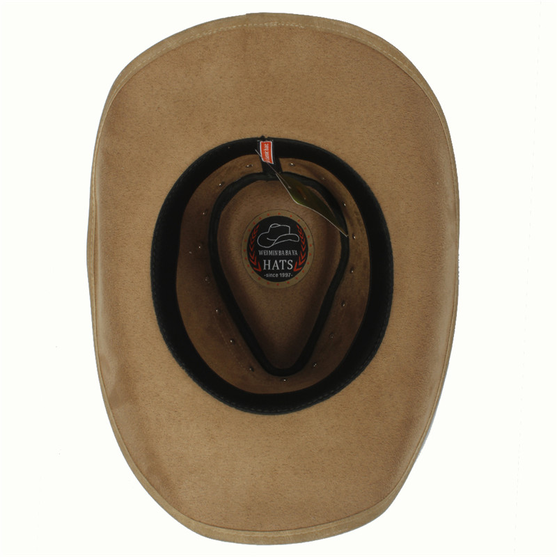 Western Leather Cowboy Hats for Women & Men 12