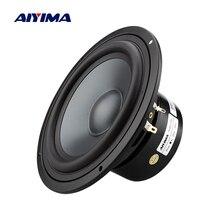 AIYIMA 6,5 дюймов СРЕДНИЙ НЧ-динамик 4 8 Ом 50 Вт Fever Bass громкий динамик книжная полка звук DIY динамик s Колонка для звуковой системы