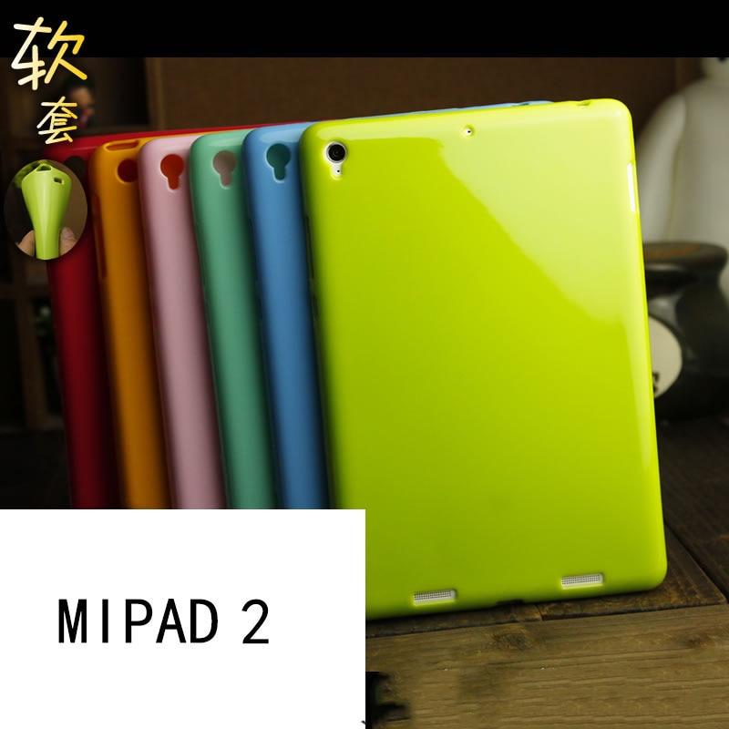 FÖR Xiaomi mi pad 2 mipad 2 mjuk täckväska 7,9 tum solid färg - Reservdelar och tillbehör för mobiltelefoner - Foto 2