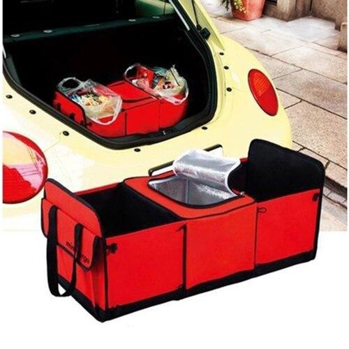 Multipurpose Auto Car Vehicle Trunk Collapsible Storage Box Basket Organizer