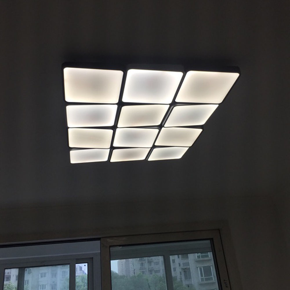Z 12 heads stepless dimming with remote control modern simple z 12 heads stepless dimming with remote control modern simple rectangle led ceiling light fixture for bedroom light lamp in ceiling lights from lights arubaitofo Choice Image