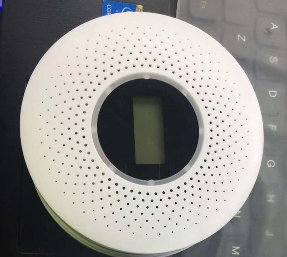 CO Smoke Detector Live Voice LED Display Alarm Carbon Monoxide Leakage Sensor Smart Human Voice LCD Display