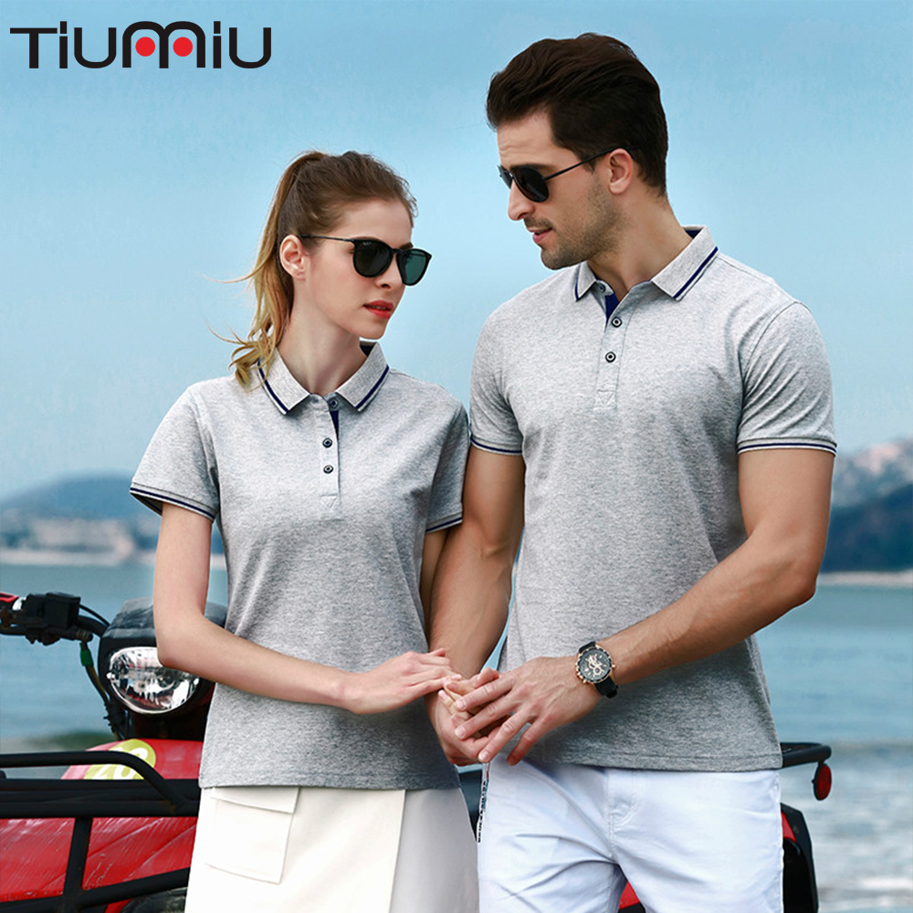 Couple Wear Sports Fitness Barbers Polo Shirt Company Activity Souvenirs Advertising Shirt Hotel Waiter Waitress Work Uniform