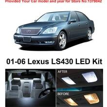 21 шт., посылка, светодиодный комплект для салона Lexus LS430 2001-2006,, Ксенон белого цвета