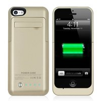 2200mAh Backup External Battery Case Charger Case Power Bank Charging Case Pack For IPhone 5 5S