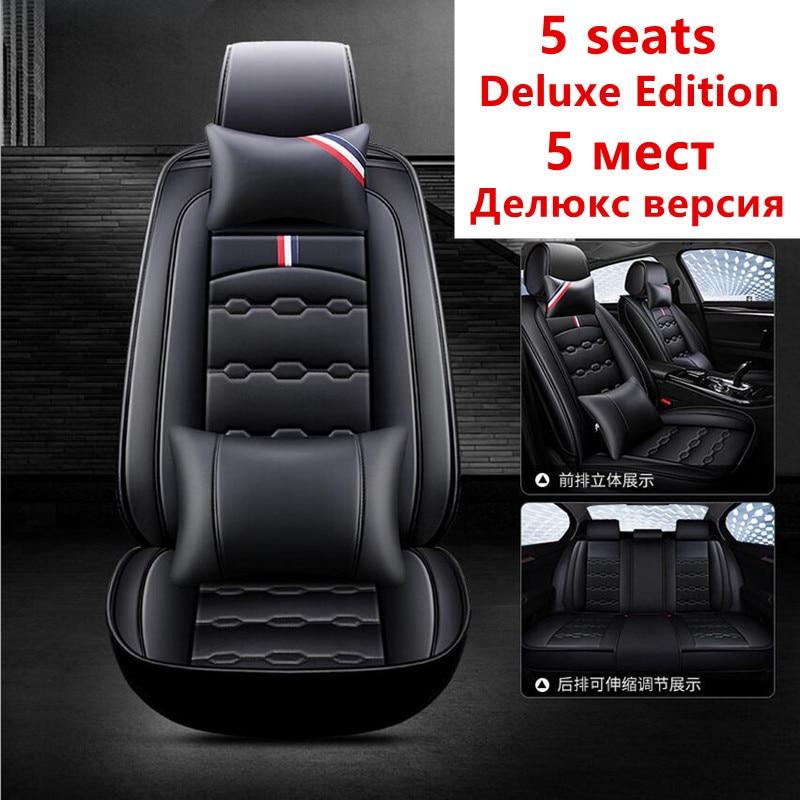 Housse de siège auto housses de siège auto pour Mitsubishi asx colt evo lution galant grandis l200 lancer 10 9 xl evo carisma montero sport - 3