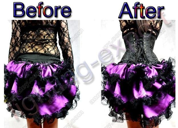 502291f5cf4 HMF Sexy Lace Up Boned Burlesque Corset Tops Beige Lace Corset ...