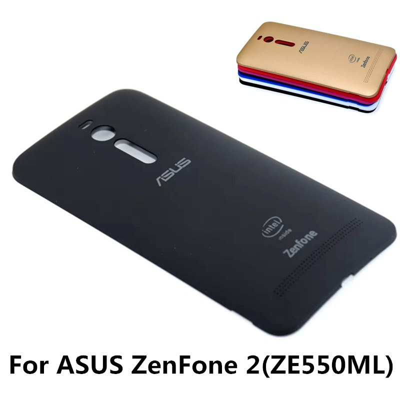 For Zenfone 2 Original Fundas Housing Replacement Phone Battery Back Cover Case For ASUS ZenFone 2 ZE550ML Free Shipping