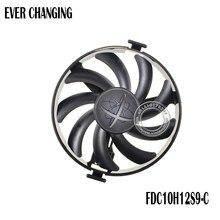 Para xfx hard swap fãs gpu vga cooler ventilador de refrigeração FDC10H12S9-C para xfx rx480 rx470 rx580 placas de vídeo como substituição