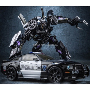 Barricade Transformation LS-02 LS02 MPM05 MPM-05 Police Movie Film MP Alloy Metal Oversize Collection KO Figure Robot Toys(China)
