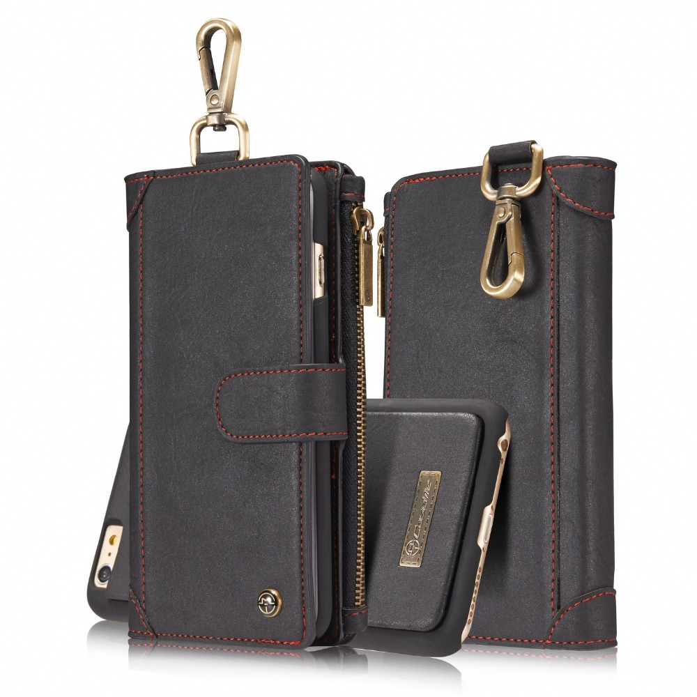 Magnetic wallet Case For iPhone 6 / 6s plus Phone case