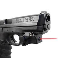 Laserspeed Handgun Red Laser Sight for Self Defense Mini Compact Rail Mountable Gun Laser Pointer Dropshipping Glock Laser