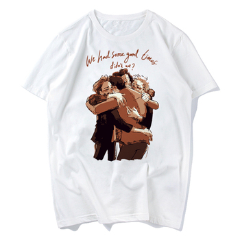 one direction top shirt female t-shirts men Fashion men' print T shirt white short sleeve shirts casual design tops tee casual glasses print tee in white