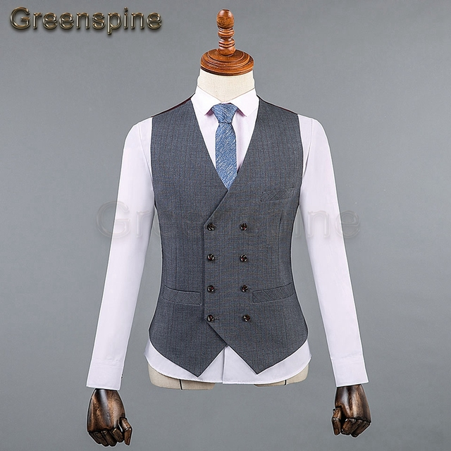 Mens Suit Jacket Formal Business Blazer Pants Men Groom Three Pieces Party Clothing Single Button Wedding Dress  ZM562