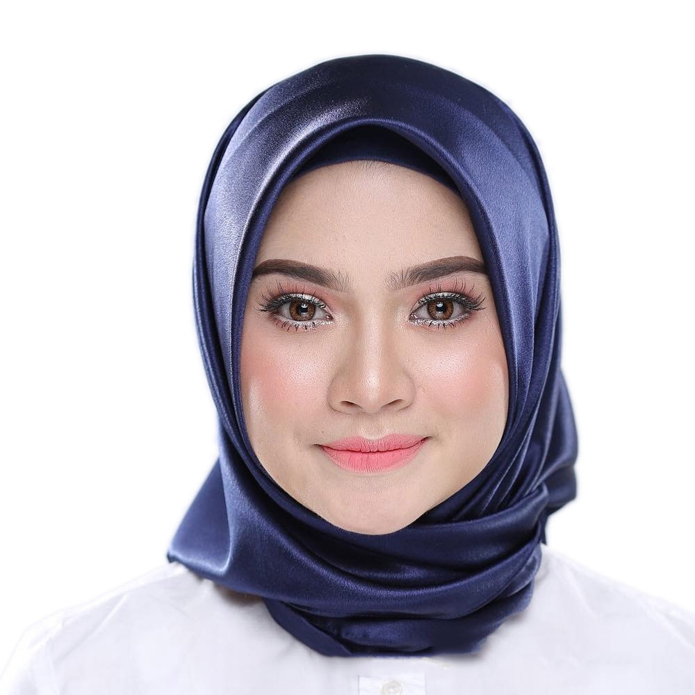 90*90 Fashion Muslim Scarf Women Malaysia Muslim Headscarf In Solid Colour Muslim Head Scarf  Plain Hijabs Inner Hijabs