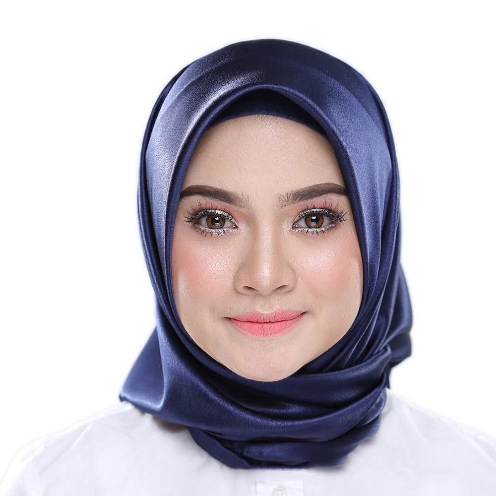 90*90 Fashion Muslim Scarf Women Malaysia Muslim Headscarf In Solid Colour Muslim Head Scarf  Plain Hijabs Inner Hijabs