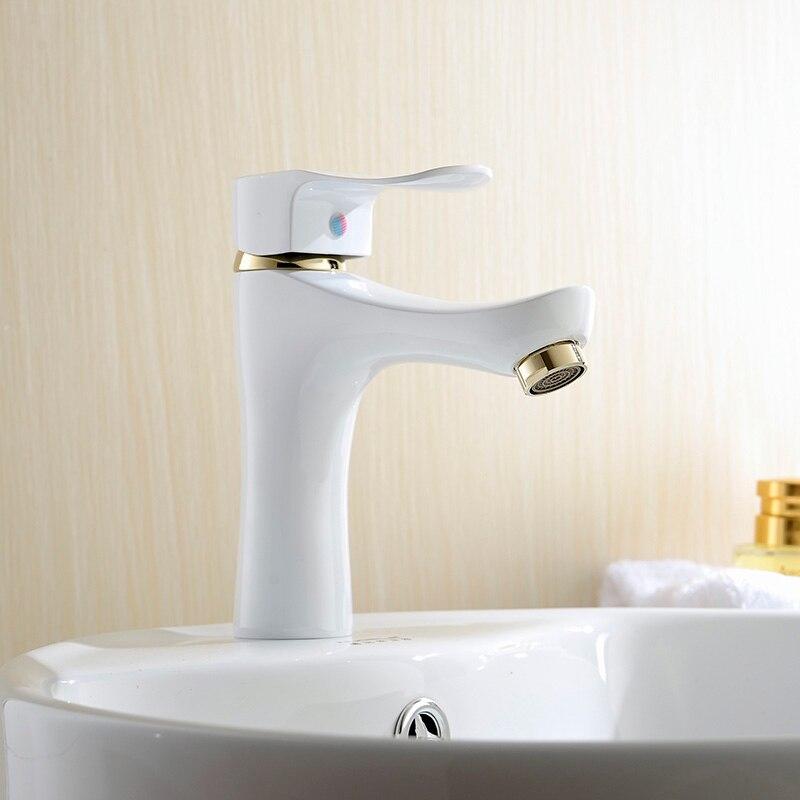 de alta calidad de diseo de moda de bao encimera lavabo grifo latn material xbt with lavabos de corian