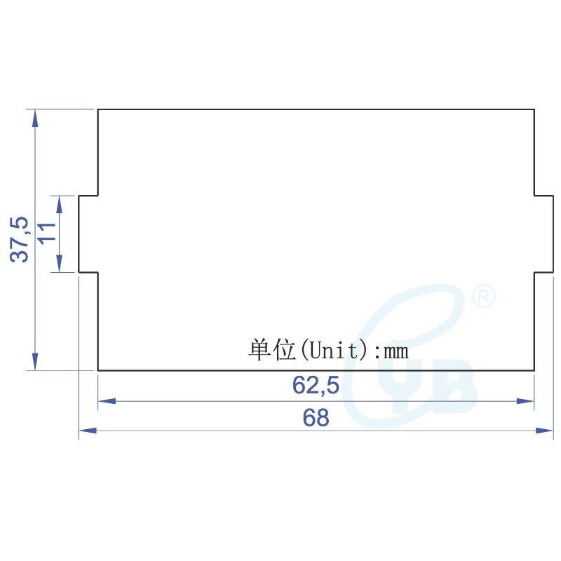 dc voltmeter ammeter led digital voltage current dual meter shunt 1000a  75mv five wires dc volt amp panel meter voltage tester -in current meters  from tools