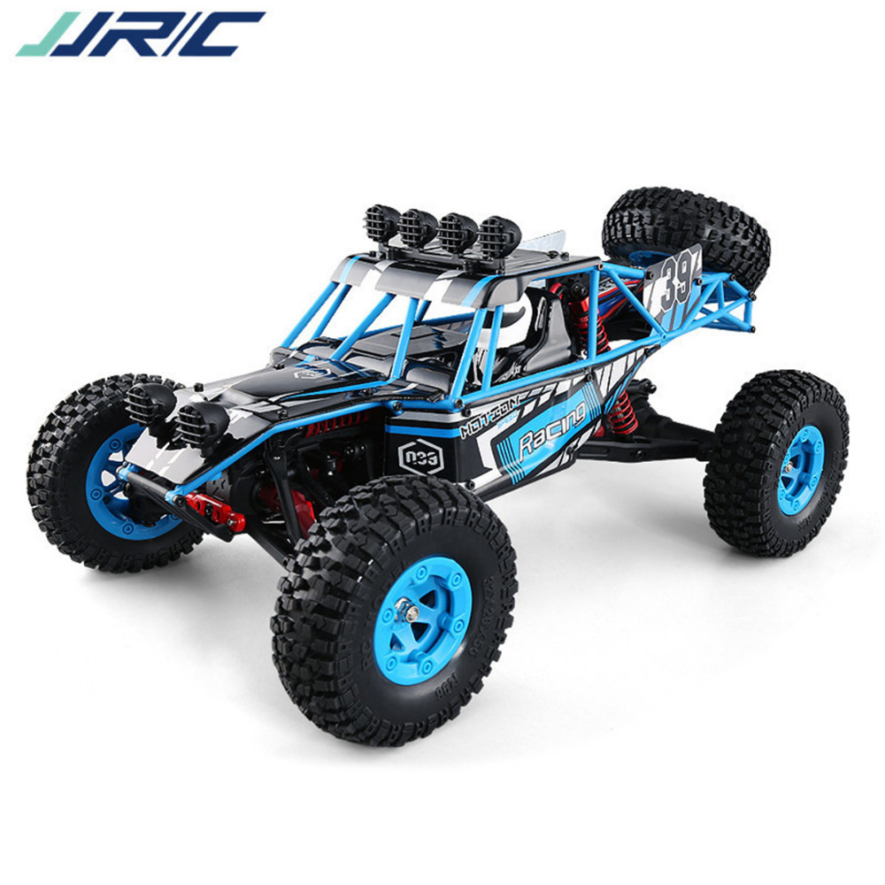 JJRC RC Car Q39 1:12 2.4G 4WD Short Course Truck Rock Crawler Off Road Forward, Backward, Turn Left / Right Max speed of 40KM/H max short