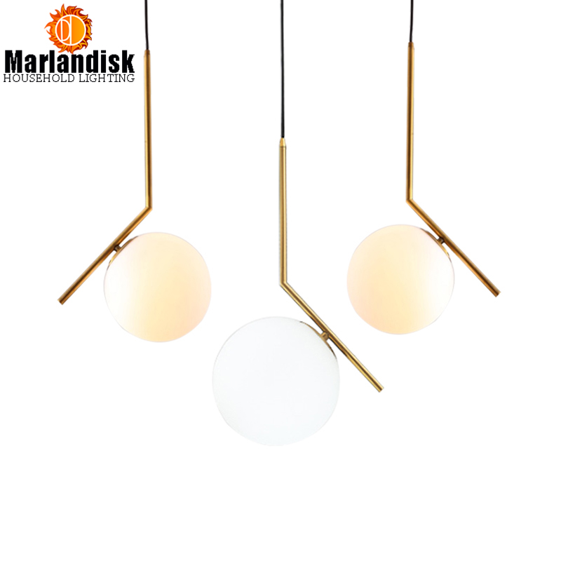 Фото Attractive Glass Round Ball Gold Metal Round Globe Pendant Lamp Indoor Hanging Lights For Bar Restaurant Kitchen Fixtures Clubs