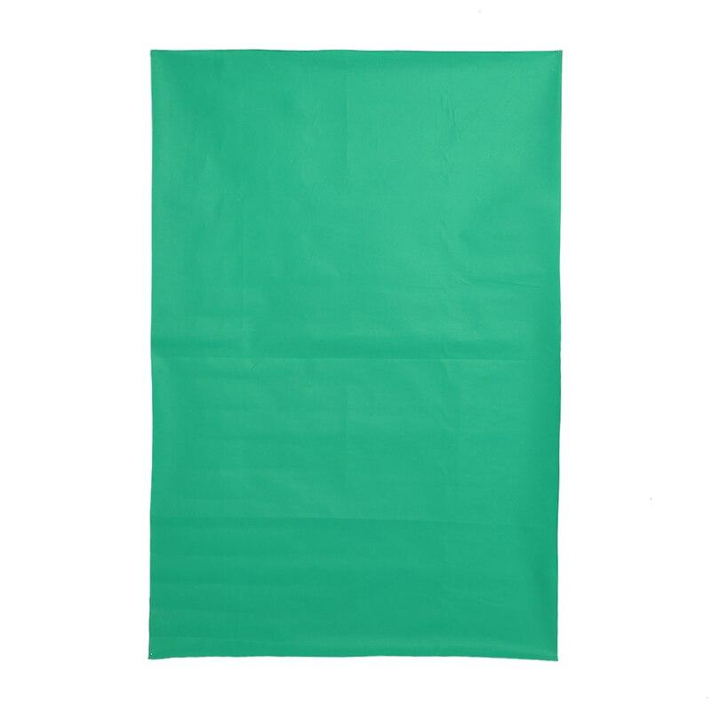 1.5mx1m Waterproof Green Color Photo Studio Background Non-woven Cloth Photography Backdrop Solid Color for Photo Studio lightdow durable non glare photography backdrop cloth