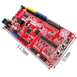 Image 4 - Massduino UNO Pro R3 arduino uno r3 uyumlu DAQ 16bit ADC 16bit DAC dahili 4.096V referans kaynağı V usb mikro USB kablosu