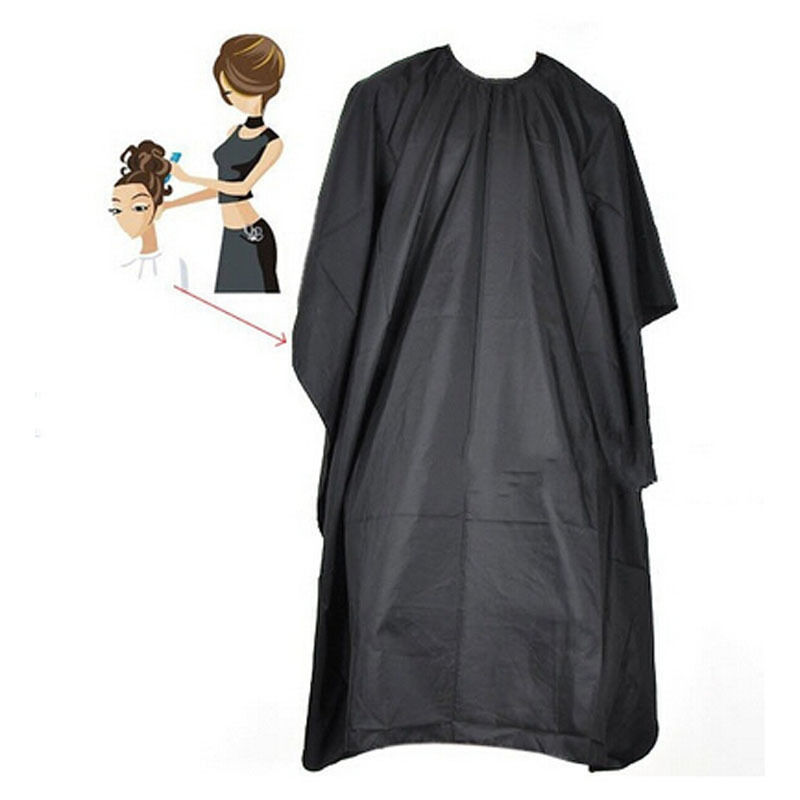 1pc Outdoor Waterproof Hairdressing Cloth Adult Camping Hiking Cape Gown Wrap Black Hairdresser Cape Multifunction Camping Mat 9