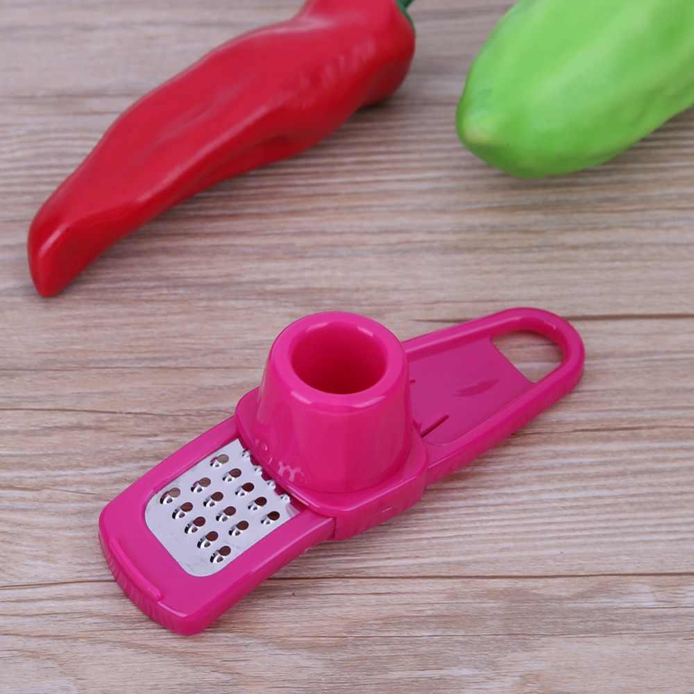 Wielofunkcyjna imbir czosnek narzędzie do szlifowania tarka strugarka krajalnica nóż narzędzia kuchenne naczynia akcesoria kuchenne