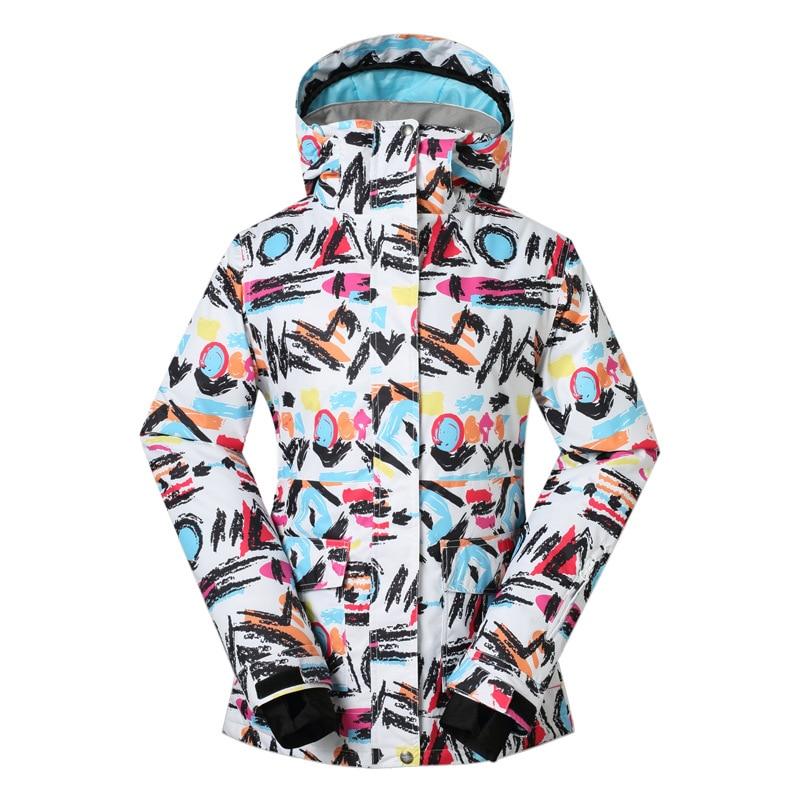 Ski Jackets Women Waterproof Windproof Outdoor font b Snowboard b font Clothes Jackets Climbing Snow Skiing