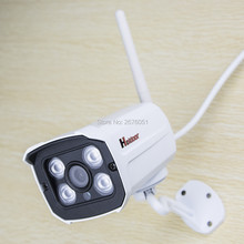 720P HD IP Camera WIFI Onvif 2.0.4 P2P for Smartphone Waterproof IP66 15m IR Outdoor Home Security Cam Infrared SD Card Slot