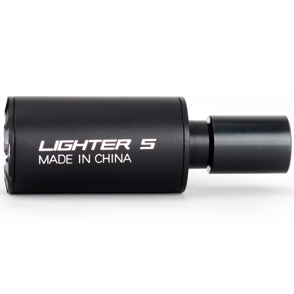 Lighter S Airsoft Gun Tracer Unit Glow in Dark Caliber 14mm/10mm Rifle Pistol Tracer for Paintball CS Shooting Tactical Tracer